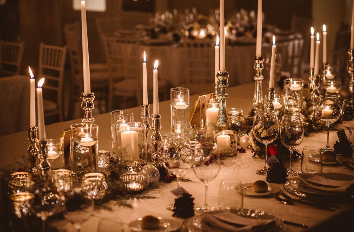 Molto Allestimento matrimonio invernale a Roma | Anita Galafate Wedding  SD89